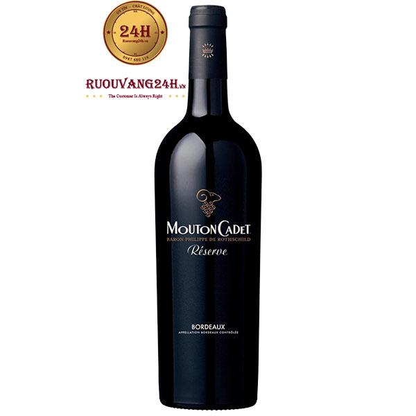 Rượu Vang Mouton Cadet Reserve Bordeaux