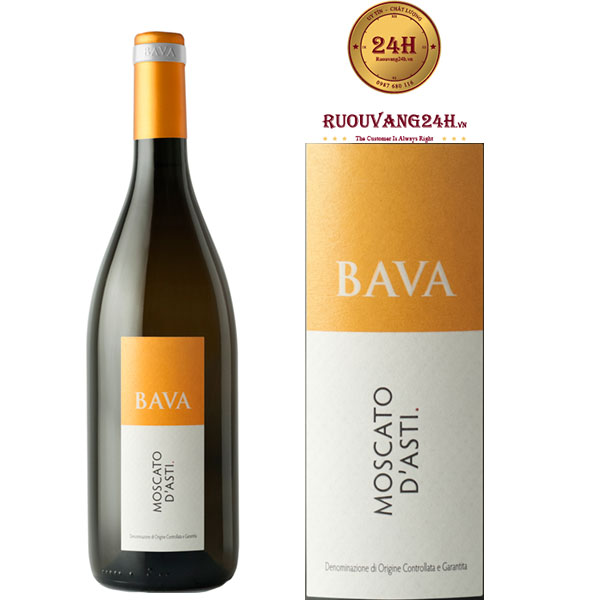 Rượu Vang Bava Moscato d'Asti DOCG