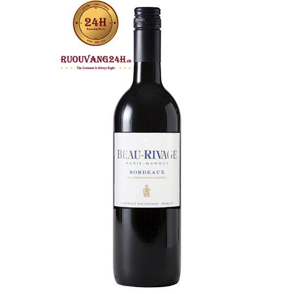 Rượu Vang Beau Rivage Bordeaux Merlot Cabernet Sauvignon
