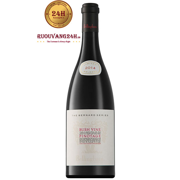 Rượu Vang Bernard Series Bush Vines Pinotage