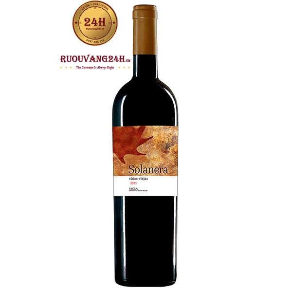 Rượu Vang Bodega Castano Solanera Yecla Do