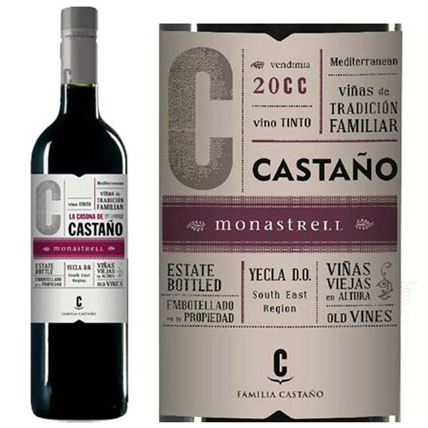 Rượu Vang Bodega Castano Yecla Do Red