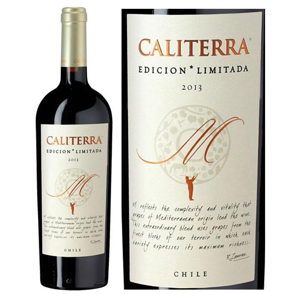 Rượu Vang Caliterra Edicion Limitada M