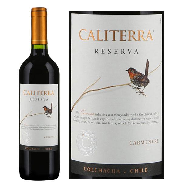 Rượu Vang Caliterra Reserva Carmenere