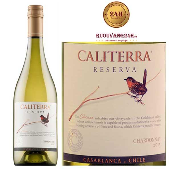 Rượu Vang Caliterra Reserva Chardonnay