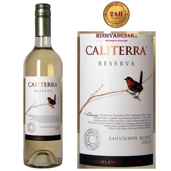 Rượu Vang Caliterra Reserva Sauvignon Blanc