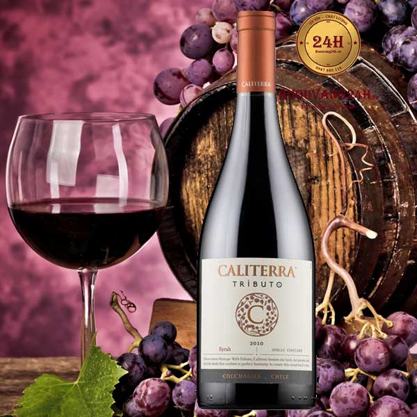 Rượu Vang Caliterra Tributo Syrah