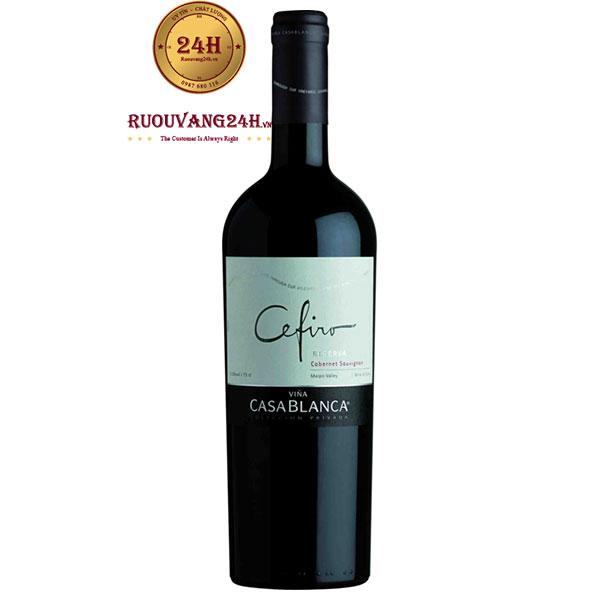 Rượu Vang Casablanca Cefiro Reserva Cabernet Sauvignon