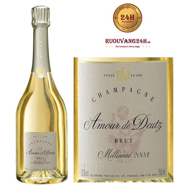 Rượu Vang Champagne Cuvee Amour de Deutz Chardonnay
