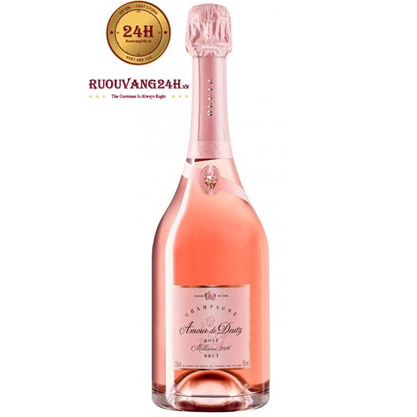 Rượu Champagne Amour De Deutz Rose