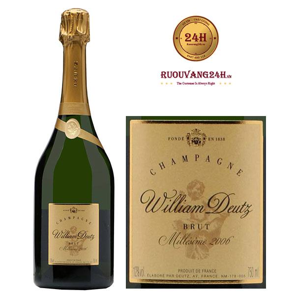 Rượu Champagne William Deutz Brut