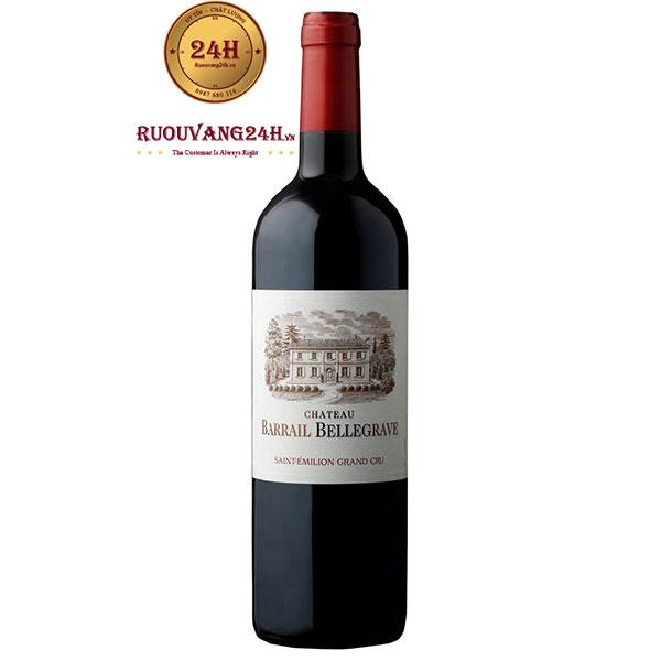 Rượu Vang Chateau Barrail Bellegrave