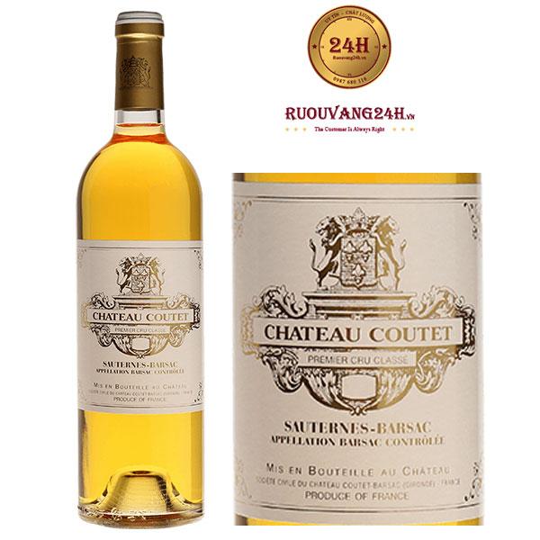 Rượu Vang Chateau Coutet Barsac 1995