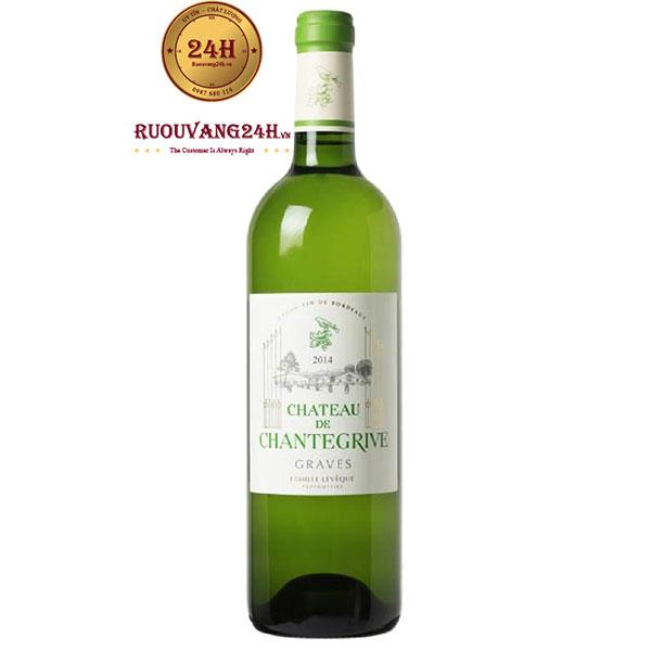 Rượu Vang Chateau De Chantegrive Graves