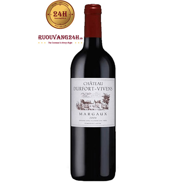 Rượu Vang Chateau Durfort Vivens Margaux