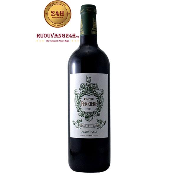 Rượu Vang Chateau Ferriere Grand Cru Classe Margaux