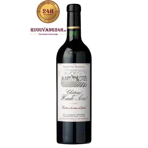 Rượu Vang Chateau Haut Serre Cahors