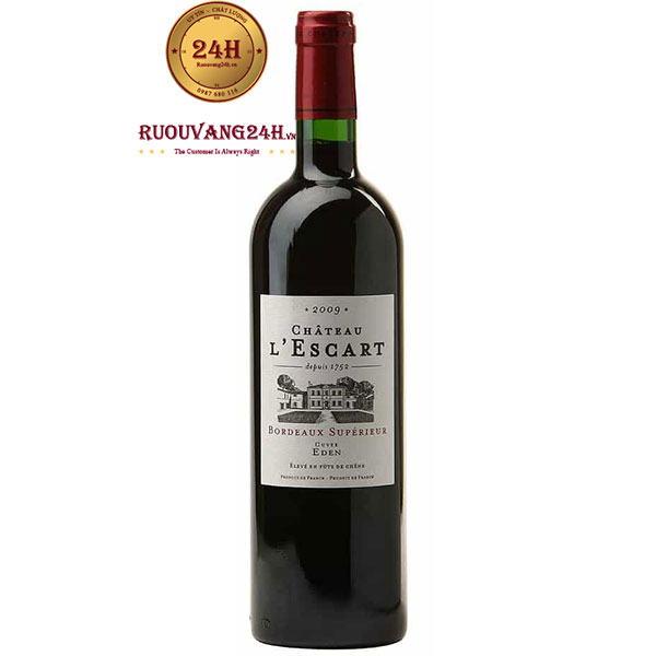 Rượu Vang Chateau L'Escart Bordeaux Superieur
