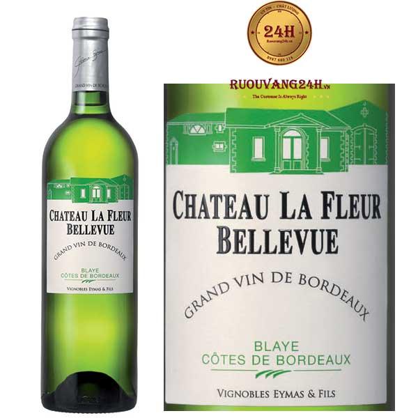 Rượu Vang Chateau La Fleur Bellevue White