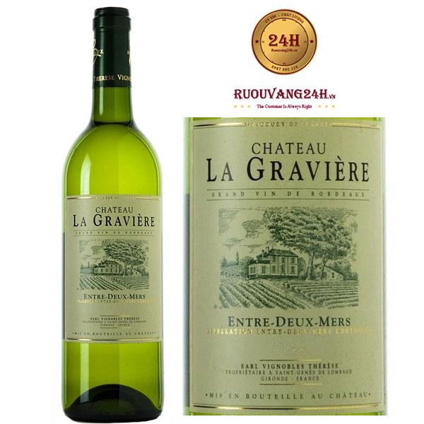 Rượu Vang Chateau La Graviere Entre Deux Mers