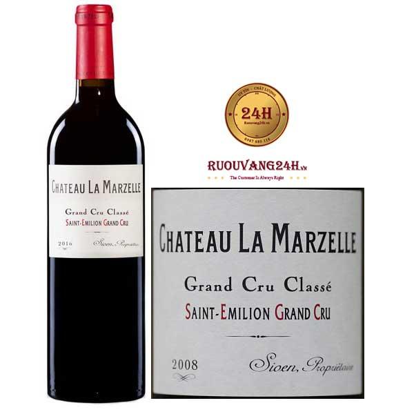 Rượu Vang Chateau La Marzelle Grand Cru Classe