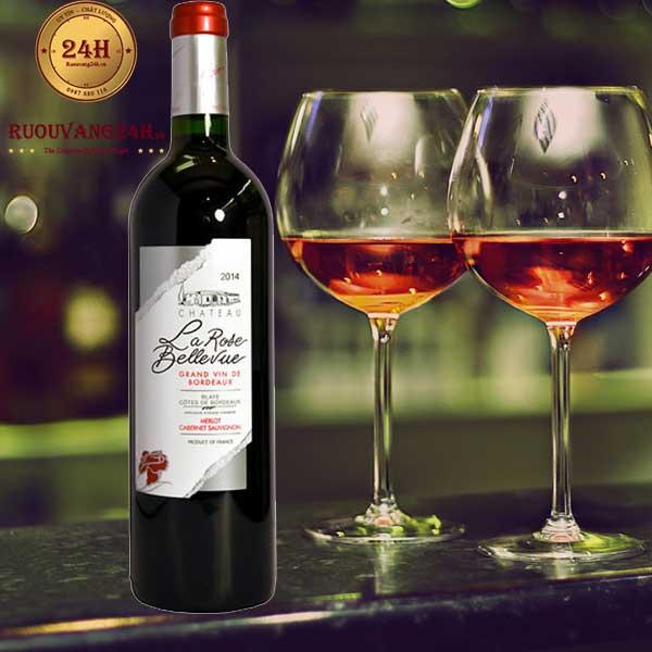 Rượu Vang Chateau La Rose Bellevue Bordeaux
