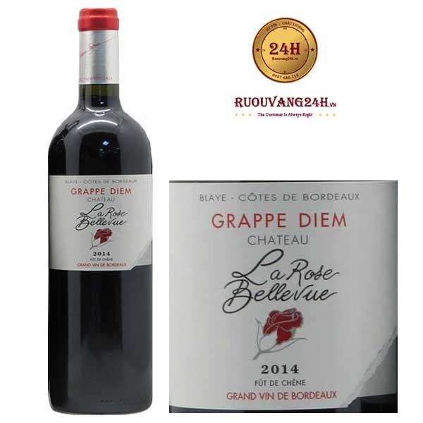 Rượu Vang Chateau La Rose Bellevue Cuvee Grap Diem Red