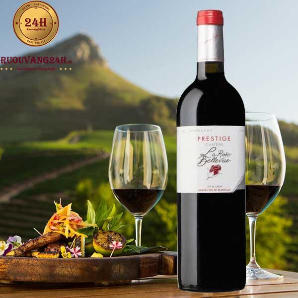 Rượu Vang Chateau La Rose Bellevue Red