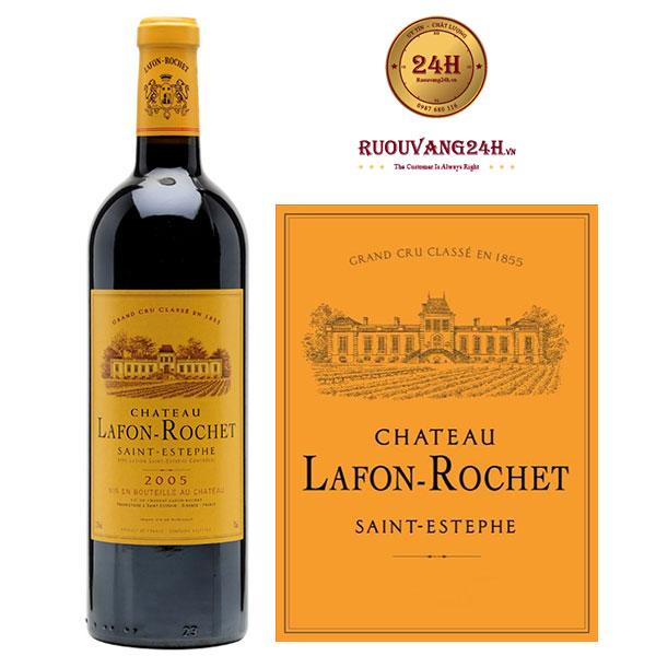Rượu Vang Chateau LafonRochett