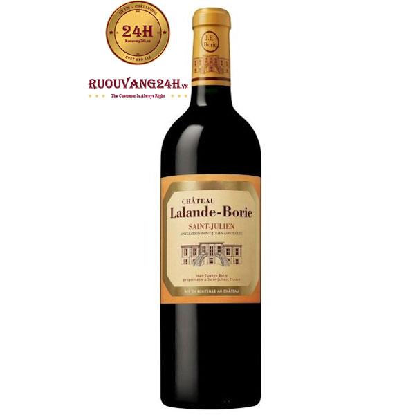 Rượu Vang Chateau Lalande Borie