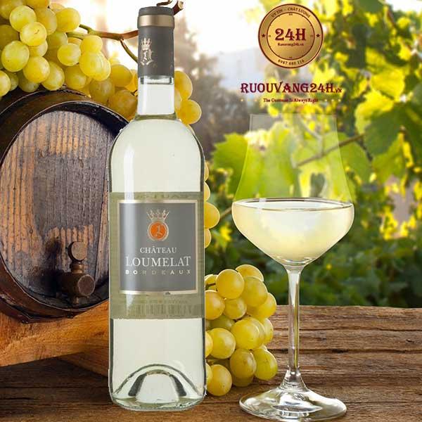 Rượu Vang Chateau Loumelat White Bordeaux
