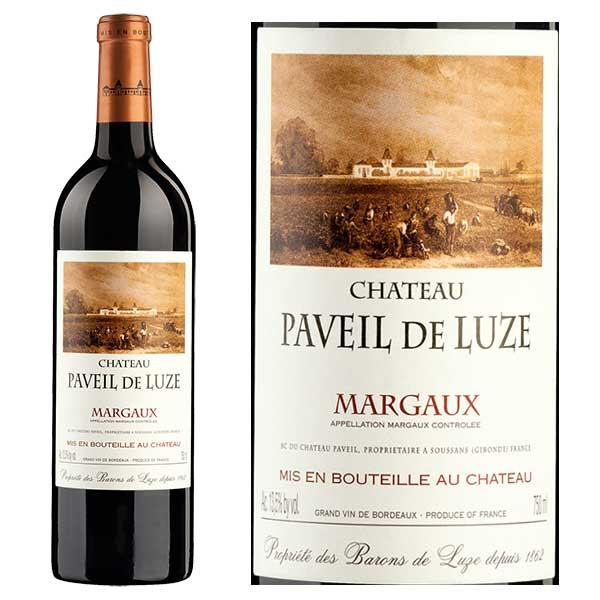 Rượu Vang Chateau Paveil De Luze Margaux Cru Bourgeois