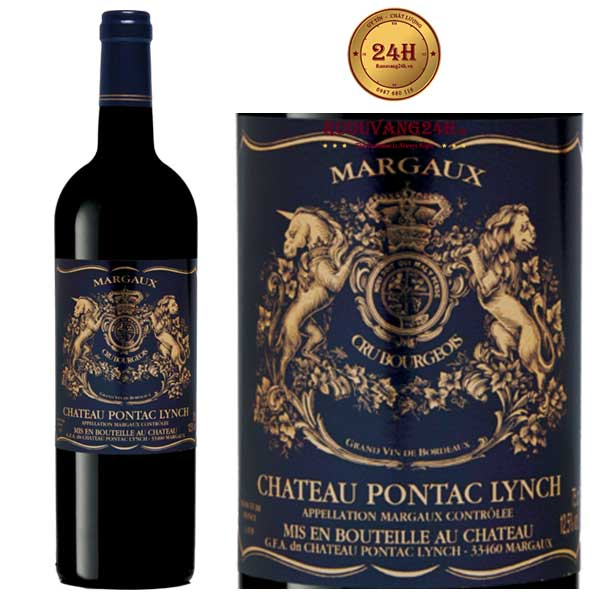 Rượu Vang Chateau Pontac Lynch Margaux