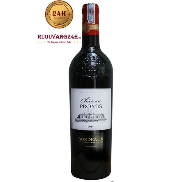 Rượu Vang Chateau Promis Bordeaux