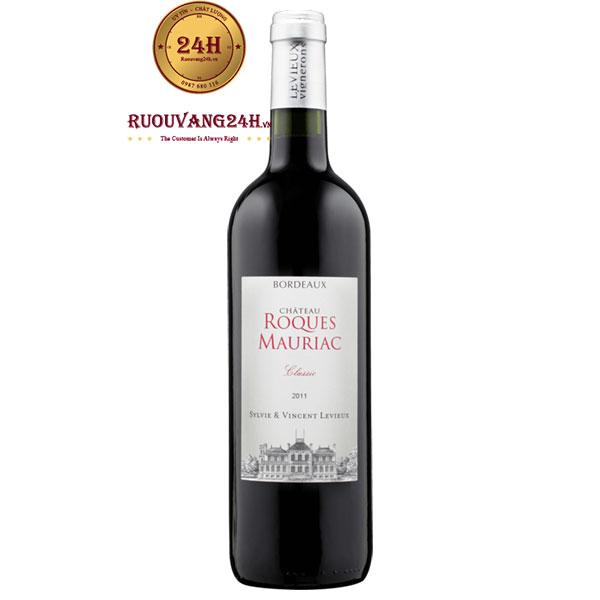 Rượu Vang Chateau Roques Mauriac Classic