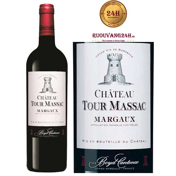 Rượu Vang Chateau Tour Massac