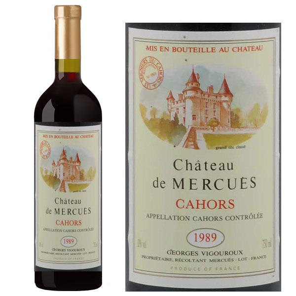 Rượu Vang Chateau de Mercues Cahors