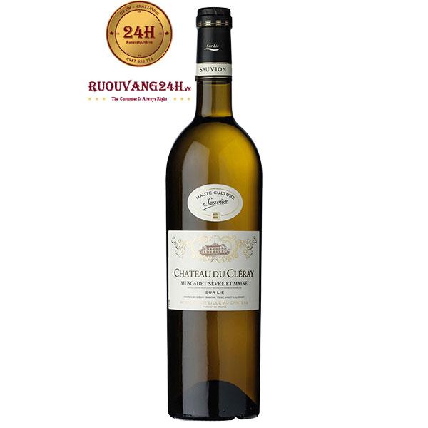 Rượu Vang Chateau Du Cleray Muscadet Sevre Et Maine