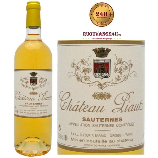 Rượu Vang Chateau du Levant Sauternes