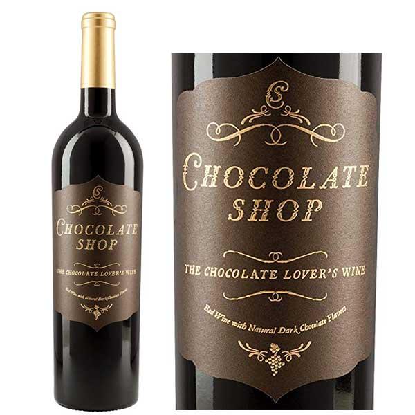 Rượu Vang Chocolate Shop Lover's Wine