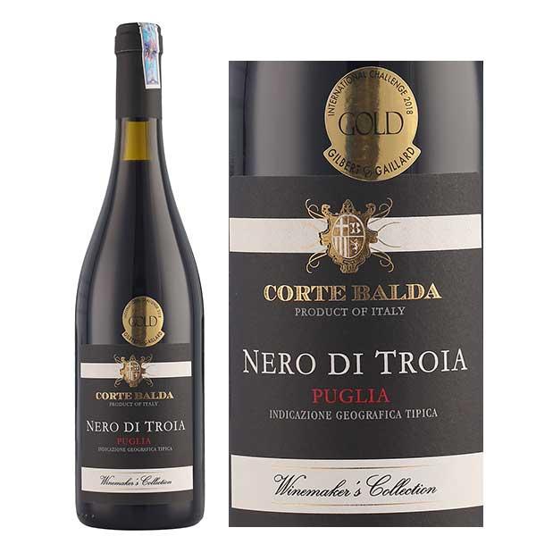 Rượu Vang Corte Balda Nero Di Troia