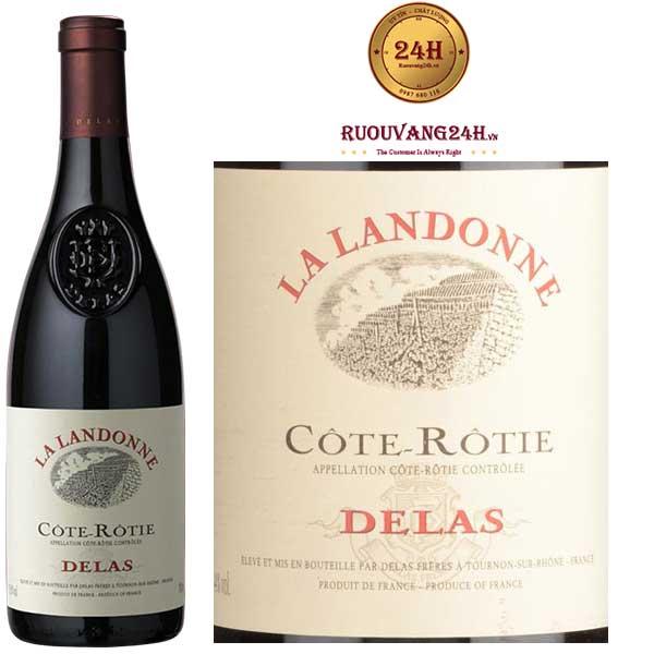 Rượu Vang Cote-Rotie Delas La Landone Syrah