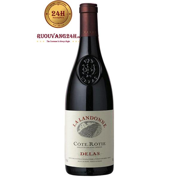 Rượu Vang Cote Rotie Delas La Landone Syrah
