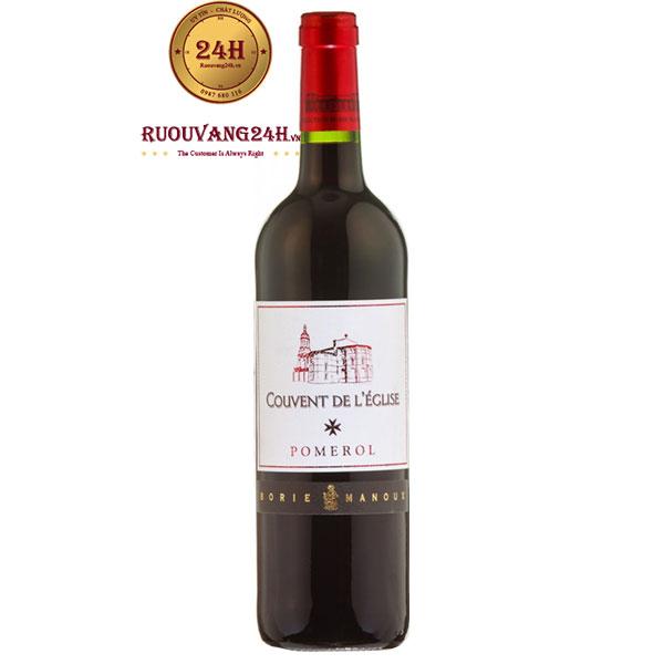 Rượu Vang Couvent De L'Eglise Bordeaux Pomerol