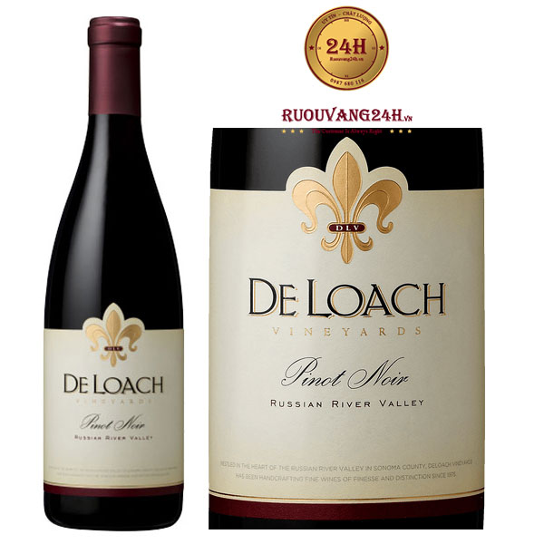 Rượu Vang DeLoach Russian River Valley Pinot Noir