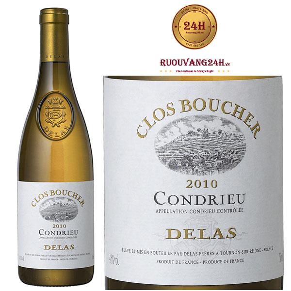Rượu Vang Delas Clos Boucher ViognierRượu Vang Delas Clos Boucher Viognier
