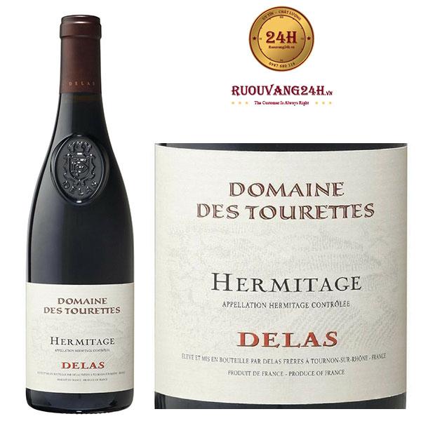 Rượu Vang Delas Domaine Des Tourettes Hermitage