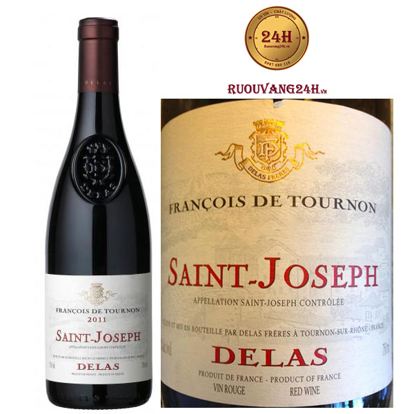 Rượu Vang Delas Francois de Tournon Saint Joseph