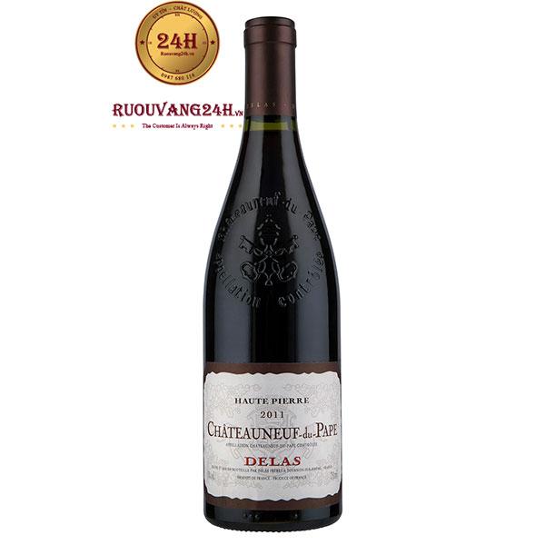 Rượu Vang Delas Haute Pierre Chateauneuf du Pape