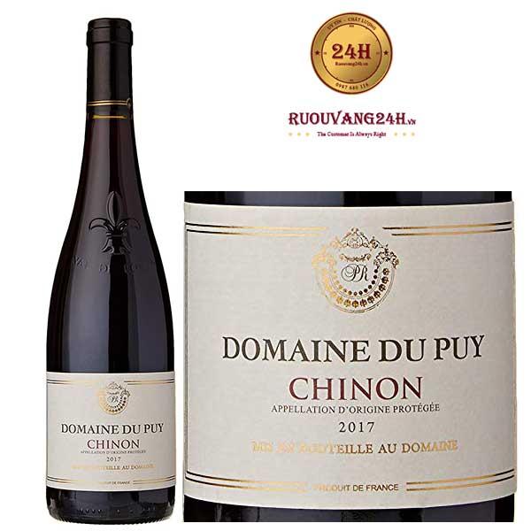 Rượu Vang Domaine Du Puy Chinon